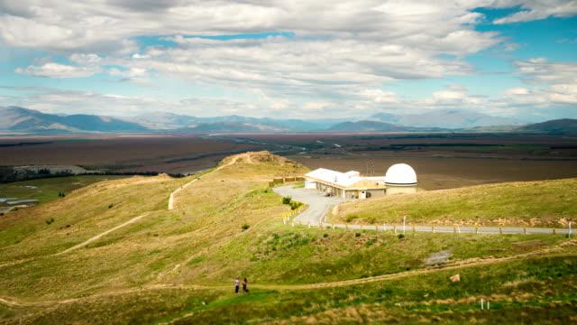 4K Time Lapse on Mount John University Observatory, Lake Tekapo, New Zealand video
