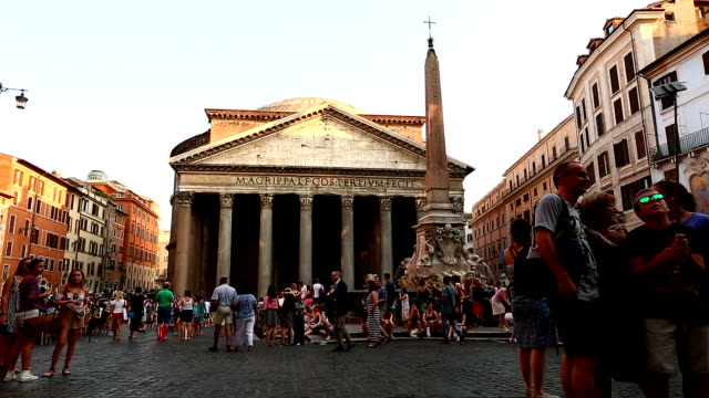 Time Lapse Pantheon of Rome video
