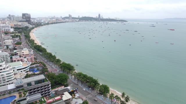 Time lapse Pattaya city in Thailand video