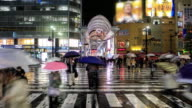 4K Time Lapse : People Hondori video
