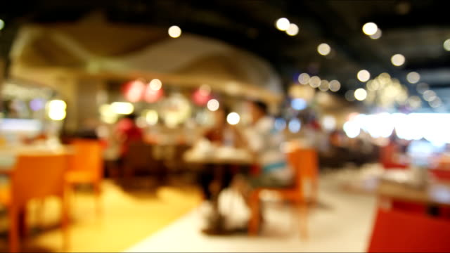 Restaurant Background With People cafe hd video & 4k b-roll - istock