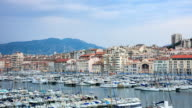 4K Time Lapse : port in Marseille video