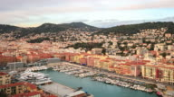 4K Time Lapse : Port of Nice. France video