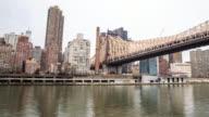 4K Time Lapse : Queensboro Bridge video