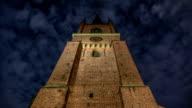 HD Time Lapse: Riddarholm Church Tower Tilt video