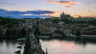 4K Time Lapse :Romantic city of Prague video