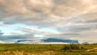 Time lapse Roraima Tepuy, Gran Sabana, The Lost World, Venezuela video