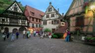 4K Time Lapse : Rothenburg ob der Tauber video
