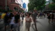 4K Time Lapse : Rush Hour Singapore video