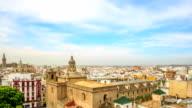 HD Time lapse : Santa Maria de la Sede Cathedral video
