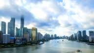 Time Lapse - Shanghai Skyline video
