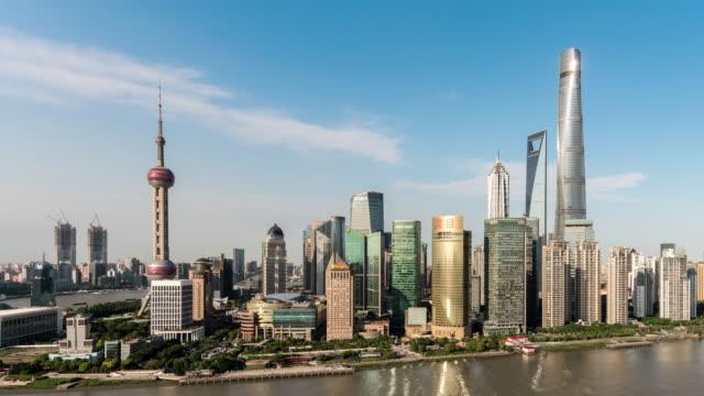 Time Lapse Shanghai Skyline video