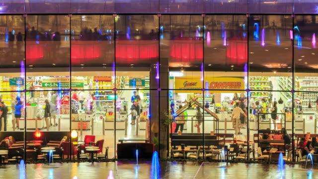 4K Time Lapse : Shopping supermarket video