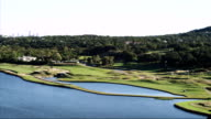 Time lapse shot of a golf course video