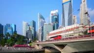 4K Time Lapse : Singapore skyline video