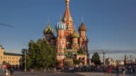 Time Lapse - St Basil's Cathedral and Red Square (Zoom Out) video