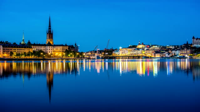 HD Time Lapse: Stockholm City video