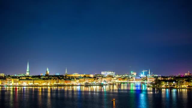 HD Time Lapse: Stockholm Cityscape video