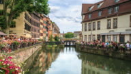 4K Time Lapse : Street view of Strasbourg video