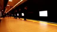 Time Lapse Subway video