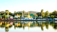 HD Time lapse : Temple in Mae Hong Son video