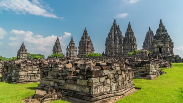 4K Time Lapse : Temple of Prambanan video