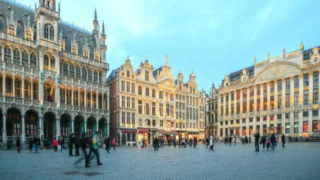 4K Time Lapse : The Grand Place video