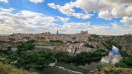 4K Time Lapse : The old spanish city Toledo video