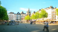 4K Time Lapse : The old town of Cologne video