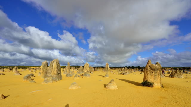 4K Time lapse: The Pinnacles Desert, Western Australia video