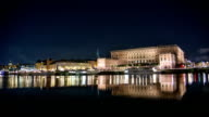 HD Time Lapse: The Royal Palace in Stockholm video