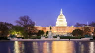 4K Time Lapse : The United States Capitol video