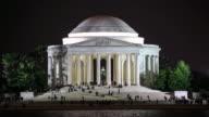 4K Time Lapse : Thomas Jefferson Memorial video
