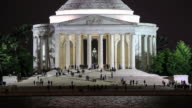 4K Time Lapse : Thomas Jefferson Memorial video