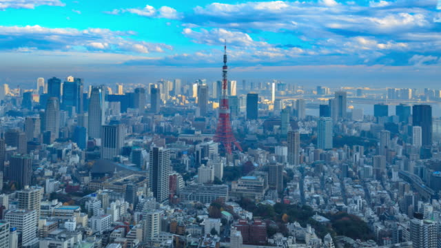 4K Time Lapse :Tokyo city video