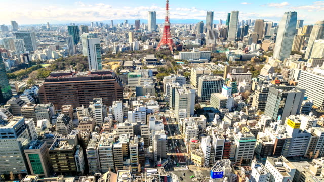 HD Time Lapse : Tokyo Tower, Japan video