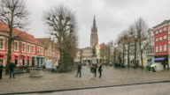 4K Time Lapse : Tourist in Bruges video