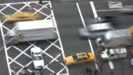 Time Lapse Traffic in New York City--HD video