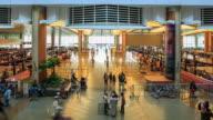 4K Time Lapse : Traveler at Airport Departure video