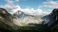 Time lapse video of Yosemite Valley video