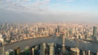 Time Lapse View of Shanghai in the morning, China video