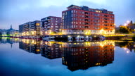 HD Time Lapse: Waterfront Apartments video