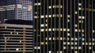 4K Time lapse Windows building pattern video