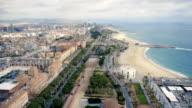 time lasps roads Barcelona video