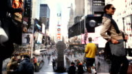 Time Square Cinemagraph Parallax HD1080 video