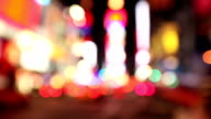 Time Square Defocused with Sounds video