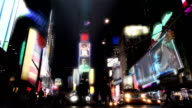 Time Square in Focus Couple video