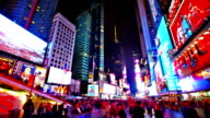 Time square. New York video