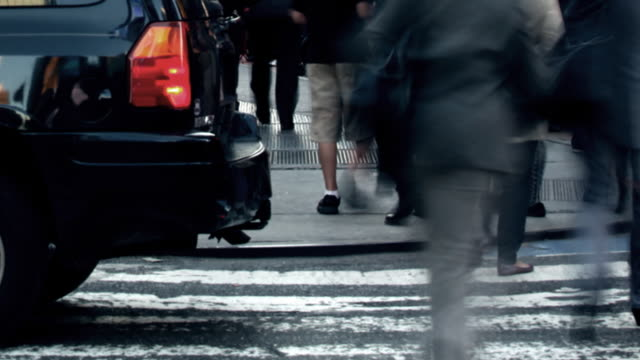 Time Square Traffic video