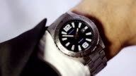 Time wristwatch video